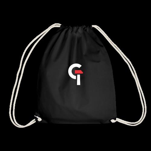 G.TEC Gym Bag Black - Turnbeutel