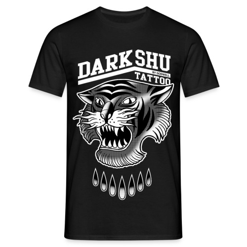 DARK&SHU TATTOO merci - T-shirt Homme