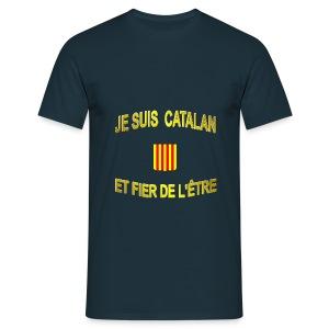 Tee-Shirt supporter du pays CATALAN - Tee shirt Homme
