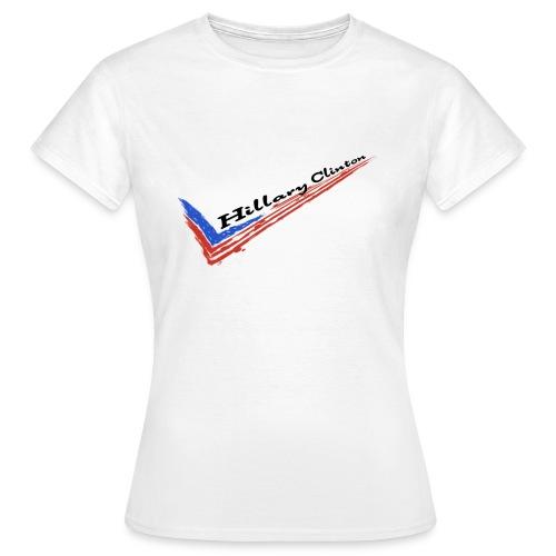Vote Clinton - women - Women's T-Shirt