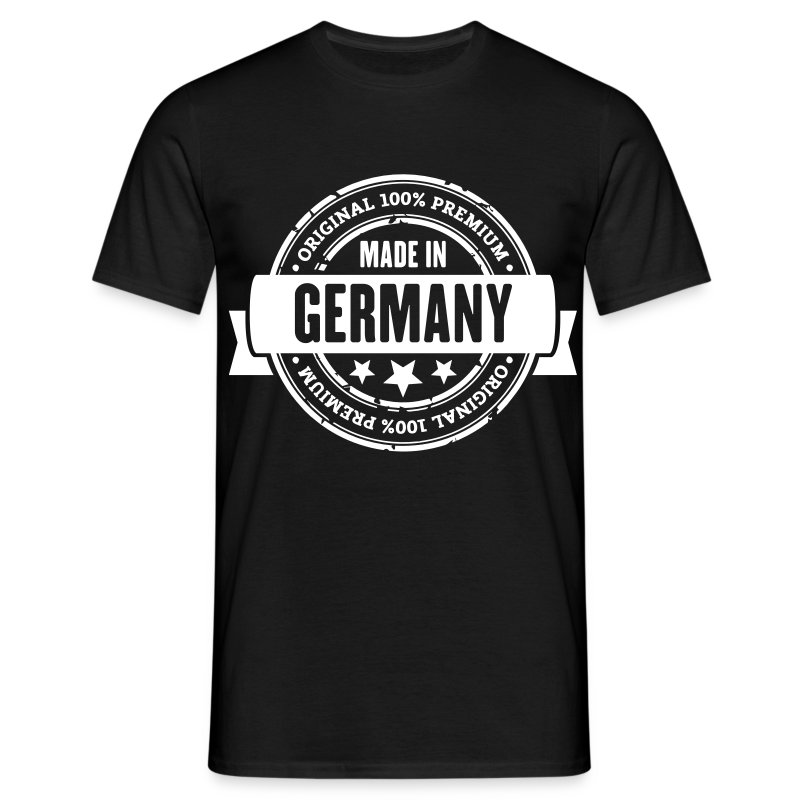 Made in germany t shirt spreadshirt for Made in t shirts