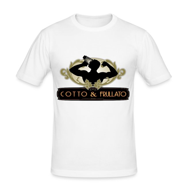 T-Shirt Aderente Cotto & Frullato