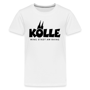 Kölle ming Stadt am Rhing Köln Teenager T-Shirt - Teenager Premium T-Shirt