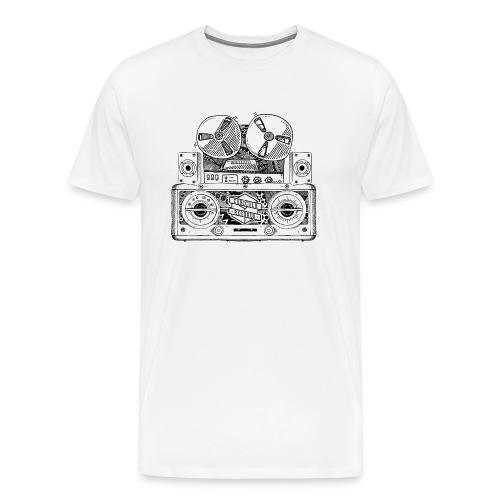 Old Radio T-Shirt - Men's Premium T-Shirt