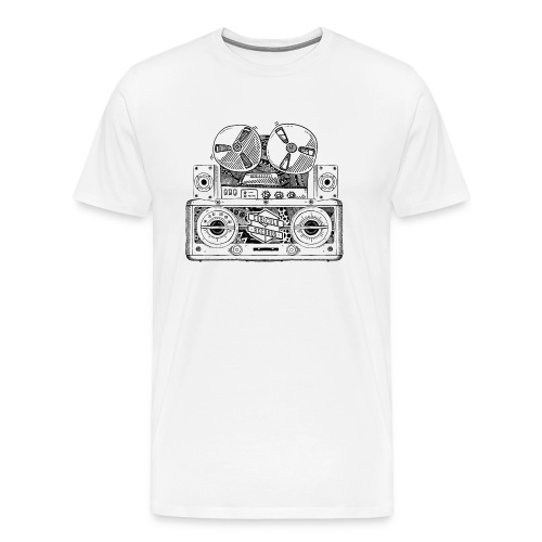 Old Radio T-Shirt - Men's Premium T-Shirt