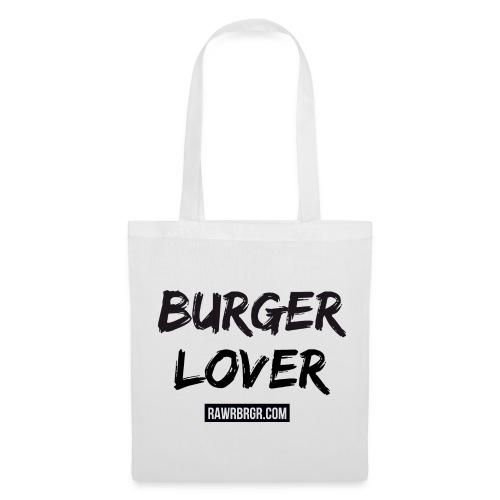 Burger Lover - Jutebeutel (weiß) - Stoffbeutel