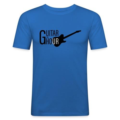 The Guitar Hour Slim Fit T-Shirt - Black Logo in Multiple Colours - Men's Slim Fit T-Shirt