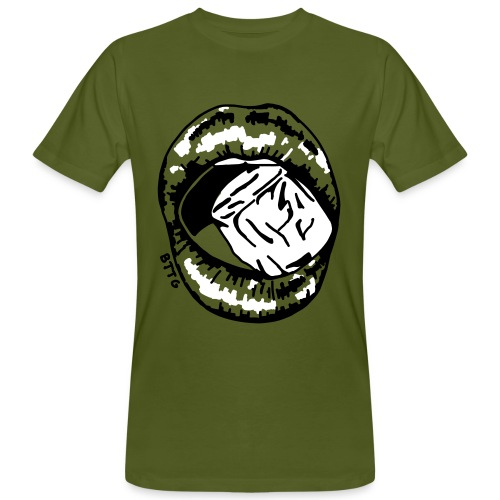 LIPS - ice - Männer Bio-T-Shirt
