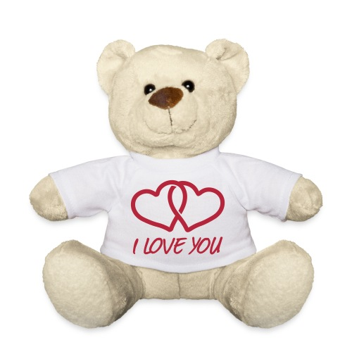 I love you-bamse - Teddybjørn