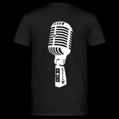 STEW Fanshirt schwarz - Männer T-Shirt