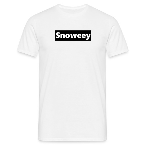 Snoweey-T-Shirt! - Männer T-Shirt
