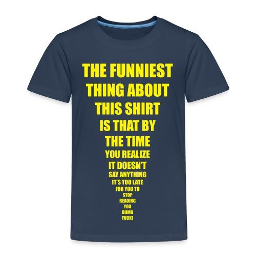 Reed it - t shirt kids - Premium T-skjorte for barn