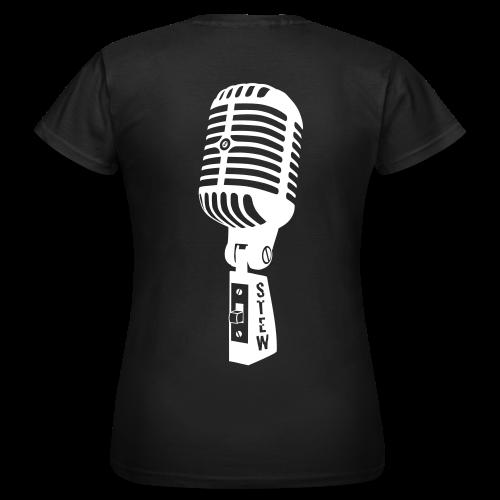STEW Fanshirt für Mädels schwarz - Frauen T-Shirt