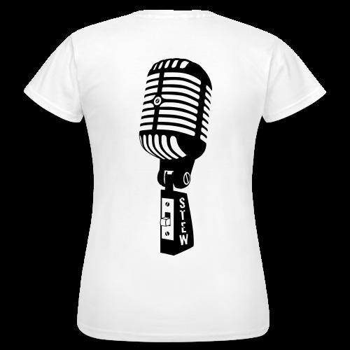 STEW Fanshirt für Mädels weiß - Frauen T-Shirt
