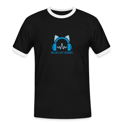 Blue Cat's Vintage T-Shirt - Men's Ringer Shirt