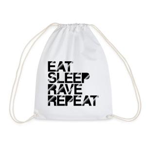Eat sleep Rave repeat Turnbeutel - Turnbeutel