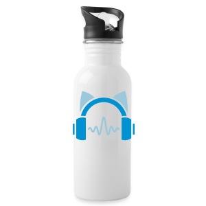 Blue Cat's Singer Bottle - Water Bottle