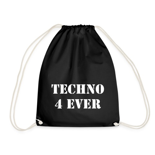 Techno 4 Ever Turnbeutel - Turnbeutel