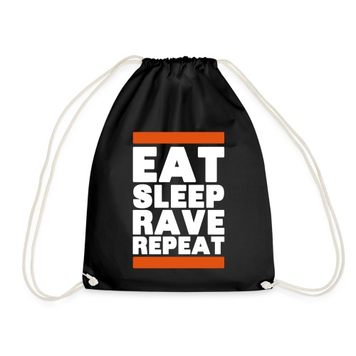 Eat sleep Rave repeat 6.0 | Techno Rave Turnbeutel - Turnbeutel
