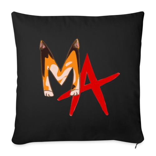 MA Cushion Cover - Sofa pillow cover 44 x 44 cm