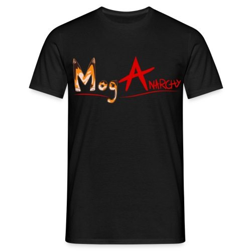 Mog Anarchy Men's T-Shirt - Men's T-Shirt