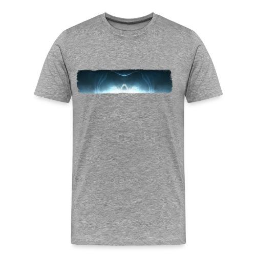 Shirt Front & Back mit Flügel - Männer Premium T-Shirt