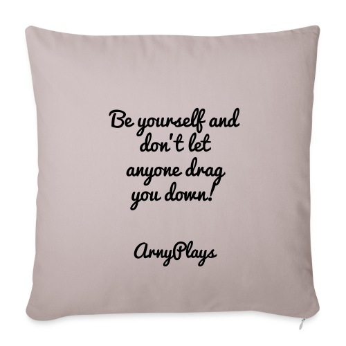 Motivation Pillow - Sofa pillow cover 44 x 44 cm