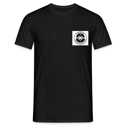Black Money £ Motivated Men T-Shirt - Men's T-Shirt