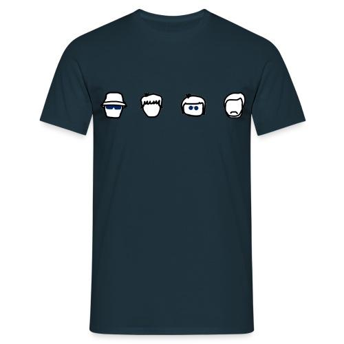 CD Heads Tee (Men's) - Men's T-Shirt