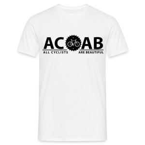 ACAB BIG Print - Männer T-Shirt