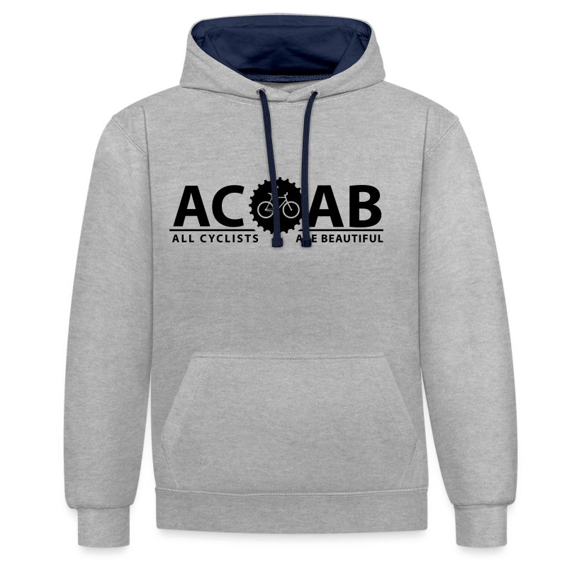 ACAB Pulli Print Black | Unisex - Kontrast-Hoodie