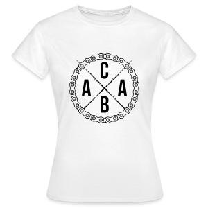 ACAB Big Print   Girls - Frauen T-Shirt
