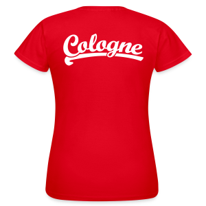 Cologne Team Köln T-Shirt - Frauen T-Shirt