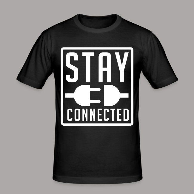 STAY CONNECTED / T-SHIRT SLIMFIT MEN #3