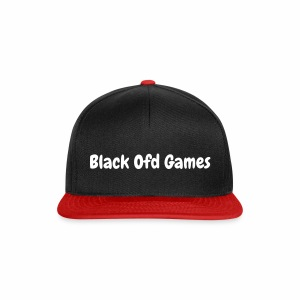 Black Ofd Games Pet - Snapback cap