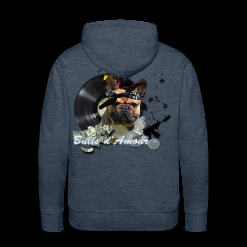 Bullpac - Sweat-shirt à capuche Premium pour hommes