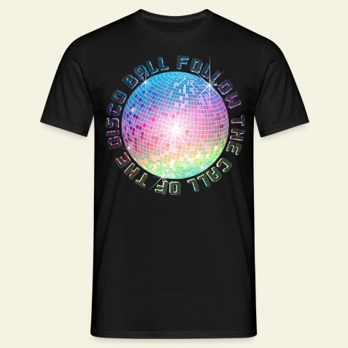 Disco Ball Bling - Männer T-Shirt