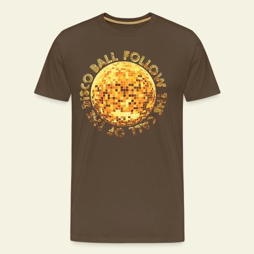 Disco Ball Retro - Männer Premium T-Shirt