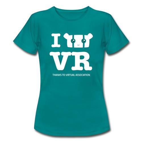 T-shirt Love VR Femme - T-shirt Femme