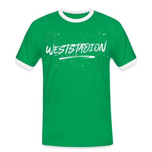 Weststadion  - Männer Kontrast-T-Shirt