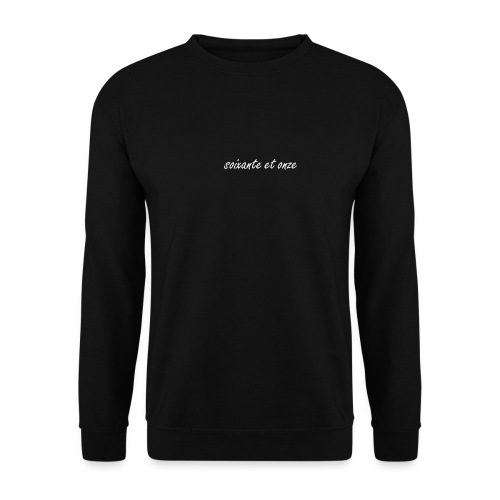 Basic SET Sweatshirt Black - Männer Pullover
