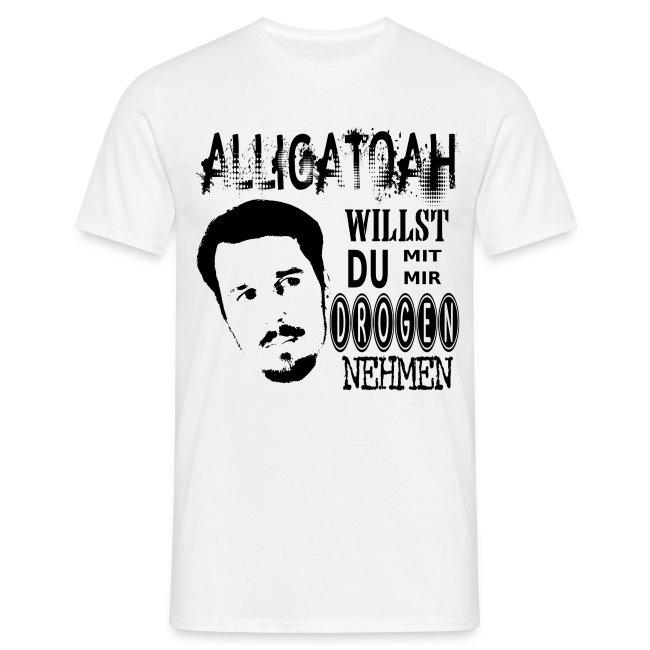 Alligatoah Hoody Logo 2 Grau Sport-kapuzenpullis & -sweatshirts Sweatshirts & Kapuzenpullis