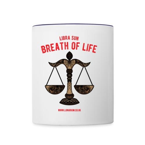 Scorpio Sun Ceramics Mug - Contrasting Mug