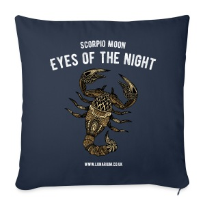 Scorpio Moon Sofa pillow cover 44 x 44 cm - Sofa pillow cover 44 x 44 cm