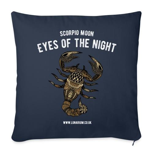 Scorpio Moon Sofa pillow cover 44 x 44 cm - Sofa pillow cover 44 x 44 cm