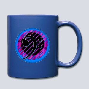 Bass clef Full Colour Mug - Full Colour Mug