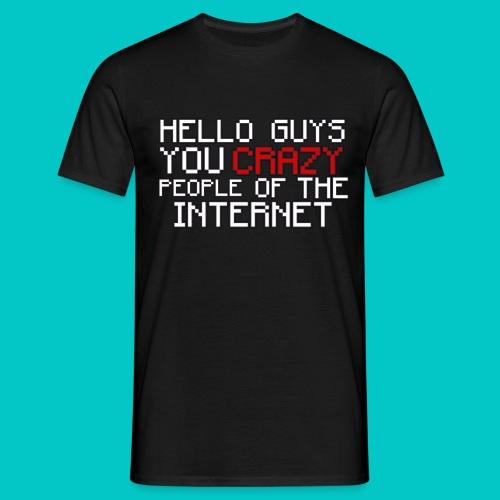 CRAZY MENS T-Shirt - Men's T-Shirt