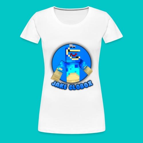 Jake Globox WOMENS T-Shirt - Women's Premium T-Shirt