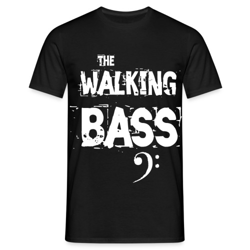 (The) Walking Bass - Camiseta hombre