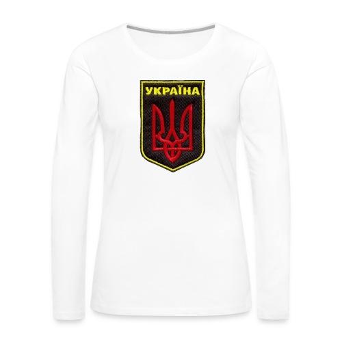 Ukraine logo - Women's Premium Longsleeve Shirt